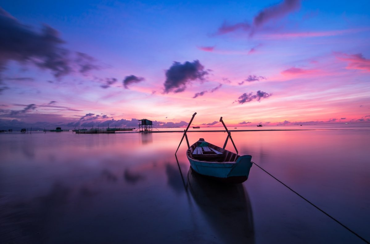 Sunrise at Phú Quốc Island